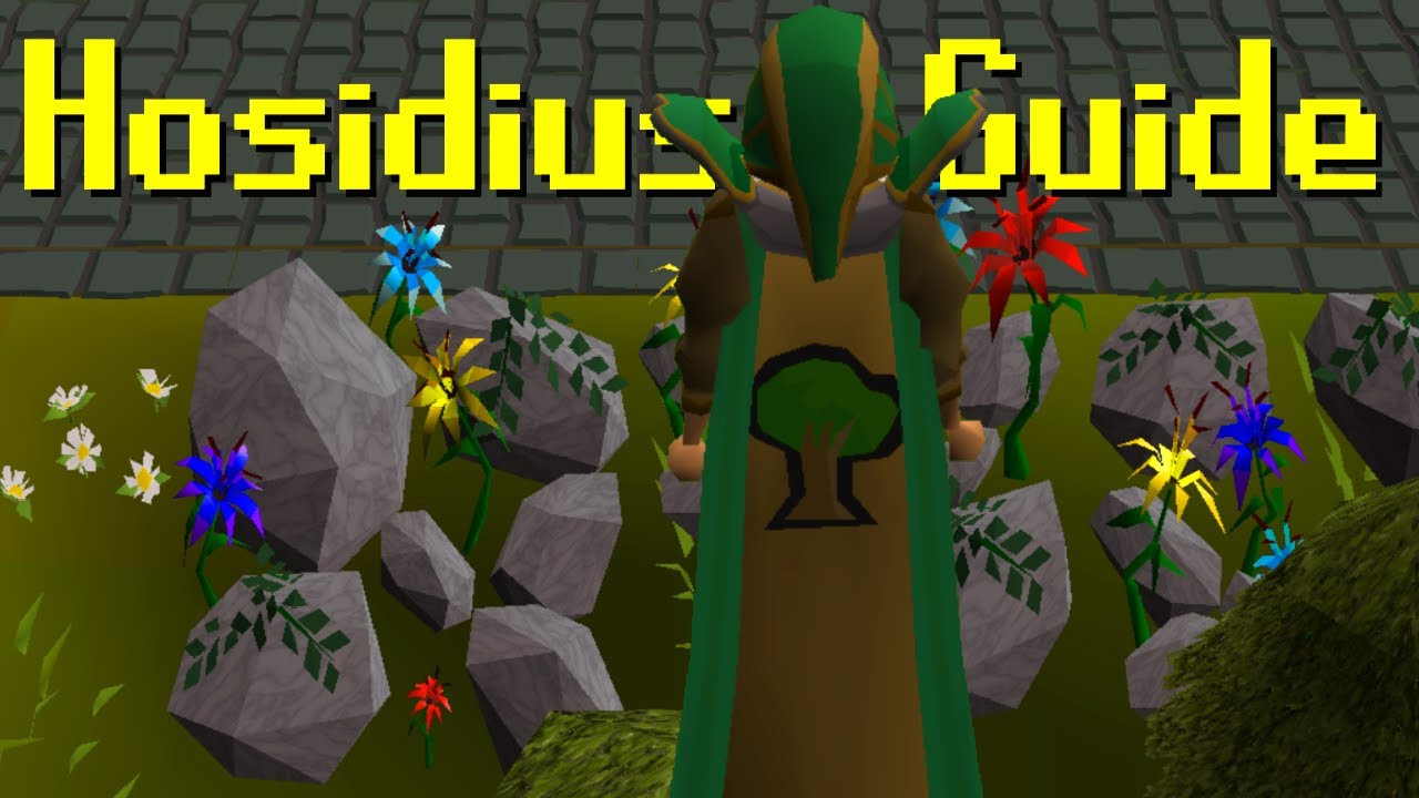 [OSRS] 100% Hosidius House Favour ~ Guide 2019