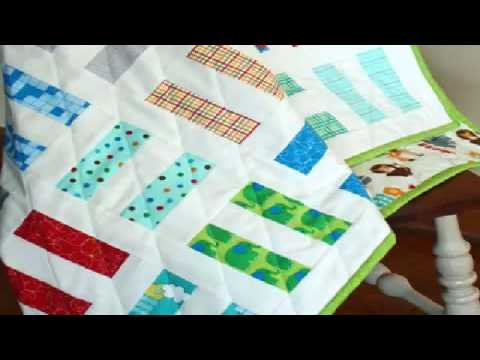 Simple Quilting Patterns Split Rail Fence Quilt Youtube