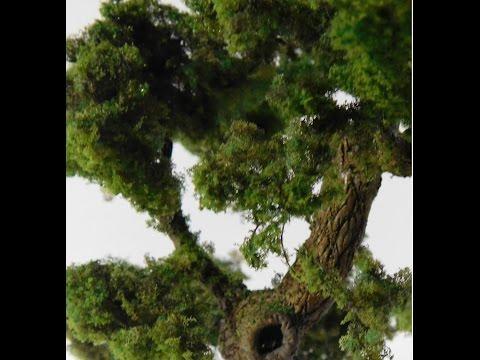 Масштабный моделизм.Изготовление дерева для диорамы. Часть 1-я.