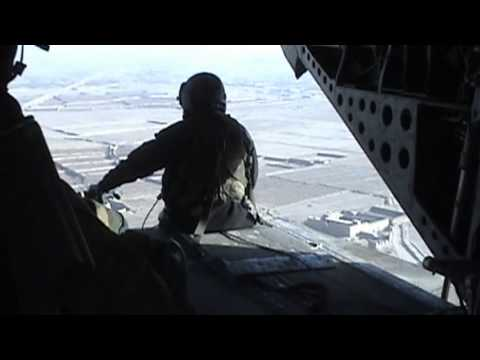 Chinook Flight to Presidential Palace in Kabul, Afghanistan (Camera 1)