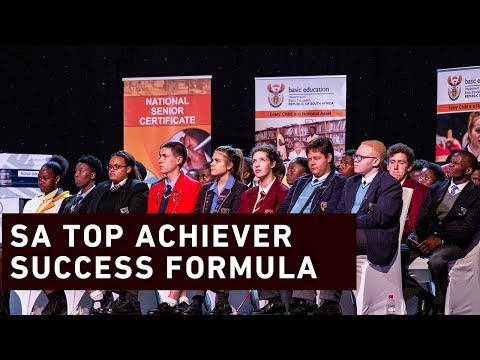 The formula to becoming South Africa's top achiever