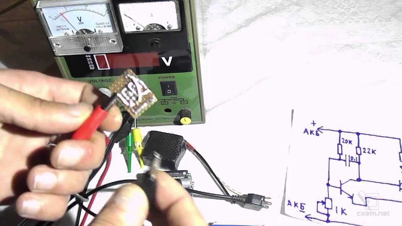 Индикатор разряда аккумуляторных батарей