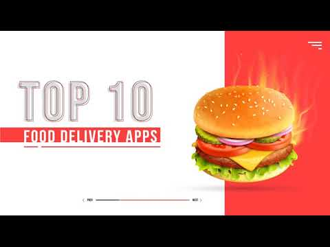 Top 10 Food Delivery Apps | Android, iOS | 2020