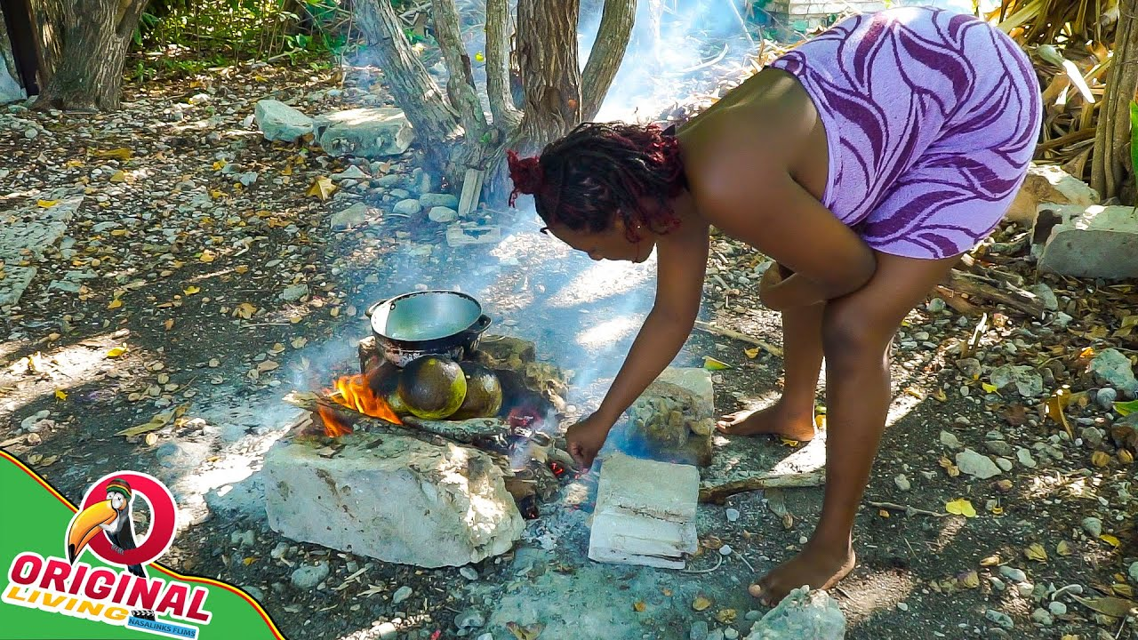 Another Day In Paradise Roasting Breadfruit And Stewing Chicken | Spearfishing Adventure