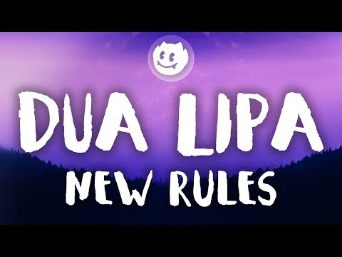 Dua Lipa ‒ New Rules (Lyrics / Lyric Video) (Acoustic)