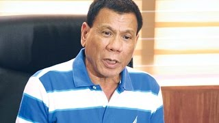 Philippines President: I Threw A Guy Out Of A Helicopter