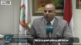 مصر العربية   حسن النحلة: القانون حرم المرشدين السياحيين من دعم الدولة