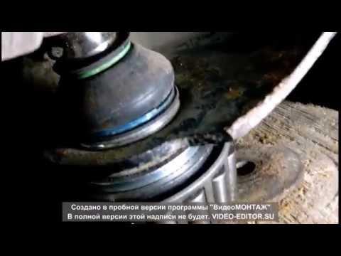 видео: Установка,снятие шаровой Сциник,Меган2(на коленке)