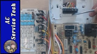 Wiring a Heat Pump Thermostat to the Air Handler and Outdoor Unit! Functions, Terminals, Colors!