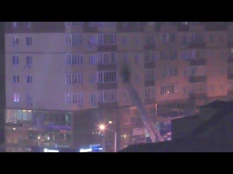 пожар Мельникайте 125б 5 этаж