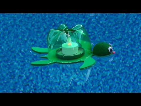 Floating Turtle Lantern craft