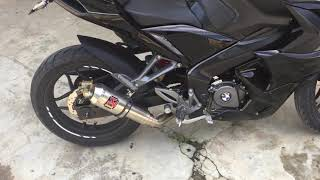 Download lagu Pulsar RS 200 Exhaust Sound Modified 2019 MP3