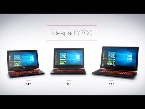 Lenovo IdeaPad Y700-15ISK Core™ i7-6700U, Ram 16GB, 1TB HDD+
