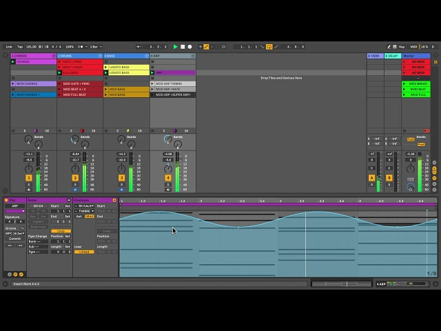 Learn Live 10: Modulation in Session View