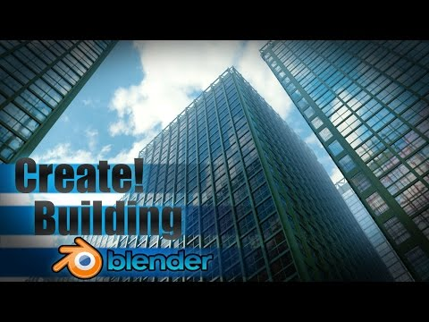Create a Large City Building - Blender Tutorial