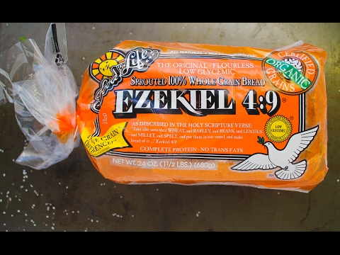 Ezekiel 4:9 Sprouted Whole Grain Bread Review