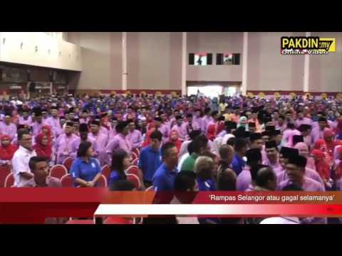 [VIDEO] Rampas Selangor Atau Gagal Selamanya - Zahid Hamidi