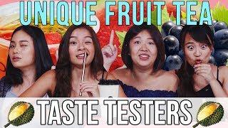 Unique Fruit Tea Flavours: Are Fruit Teas Worth the Hype   Taste Testers   EP 102