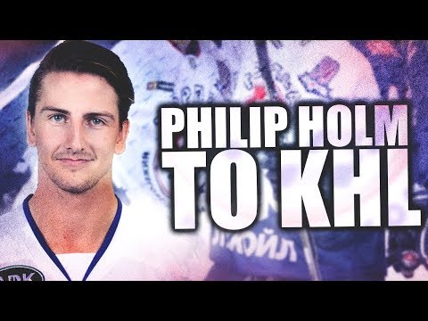 Philip Holm Signs W/ KHL Team Torpedo Nizhny Novgorod—Former Vancouver Canuck / Vegas Golden Knight