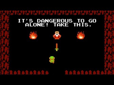 It's Dangerous To Go Alone - Gaming Meme History