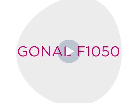 Gonal F 1050 pour la stimulation de la croissance folliculaire