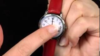 Timex Womens Classic Round Easy Reader Watch SKU:#8047067