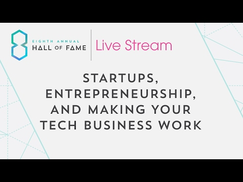 Startups Entrepreneurship And Making Your Tech Business Work