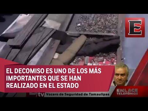 Luis Alberto Rodríguez y el decomiso de armas en Nuevo Laredo