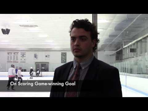 Post Game Interviews from Ice Hockey vs  Framingham State - 12/9/15