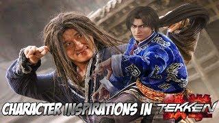 Inspirations behind characters in Tekken - Then vs Now