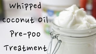 DIY Whipped Coconut Oil Treatment for Dry Natural Hair