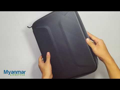 Hard Shell Laptop Case - AGVA - Myanmar Lifestyle