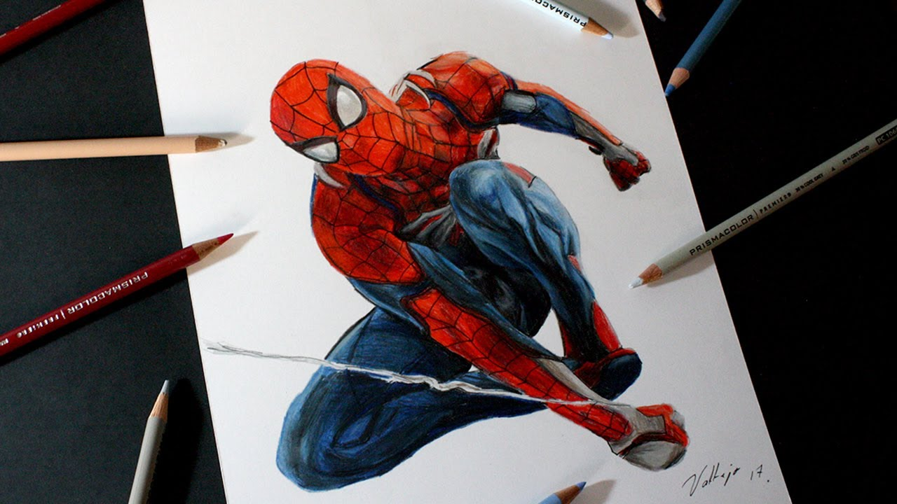 Dibujo De Spider-Man (Playstation 4)