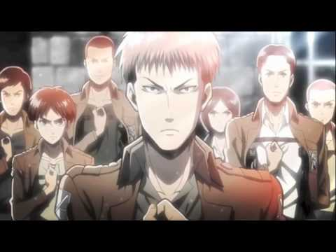 Shingeki no Kyojin opening 1 Jean Kirchstein version
