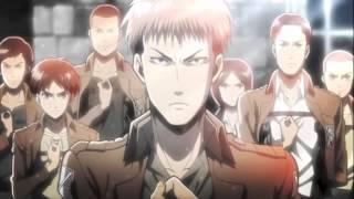 Repeat youtube video Shingeki no Kyojin opening 1 Jean Kirchstein version