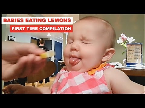 babies Eating Lemons for the First Time Compilation 2019 - Youtube