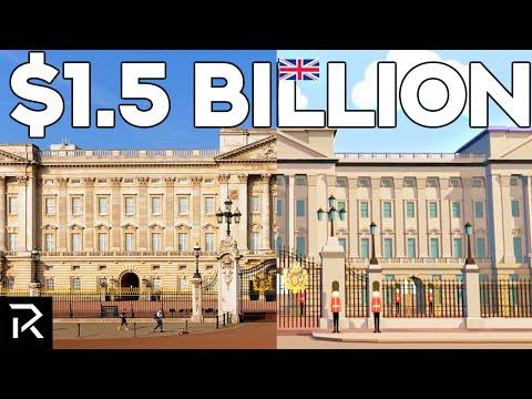 Inside The Secret Rooms Of Buckingham Palace