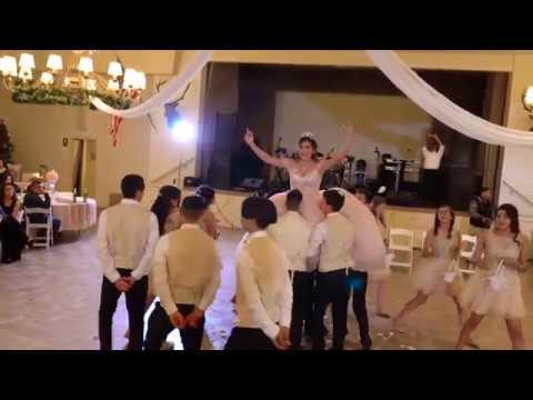 a8720b312bf Alejandra Madrigal Quinceanera Waltz   Surprise Dance - YouTube