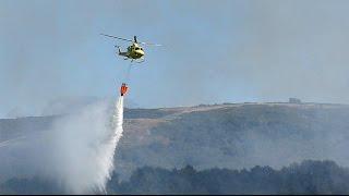 Incendios - Aviones y Helicópteros - INCREÍBLE