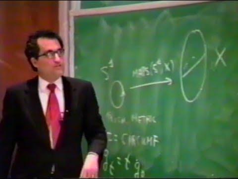 Edward Witten - Monopoles & Four-Manifolds (1995)