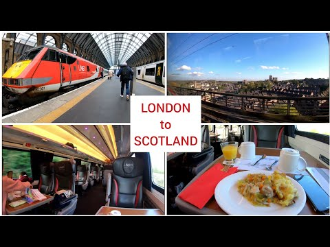 London To Scotland By Train With LNER, First Class