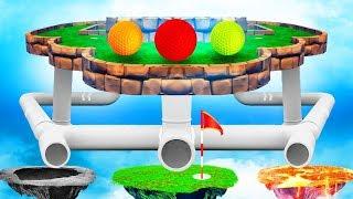 НЕТ ШАНСОВ УГАДАТЬ НУЖНУЮ ЛУНКУ! ЭПИЧНЫЙ ОВЕР 99% СЛОЖНЫЙ ГОЛЬФ С ДРУЗЬЯМИ В ГОЛЬФ ИТ (Golf It)