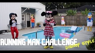 Repeat youtube video Running Man Challenge Disney Characters