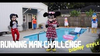 Running Man Challenge Disney Characters