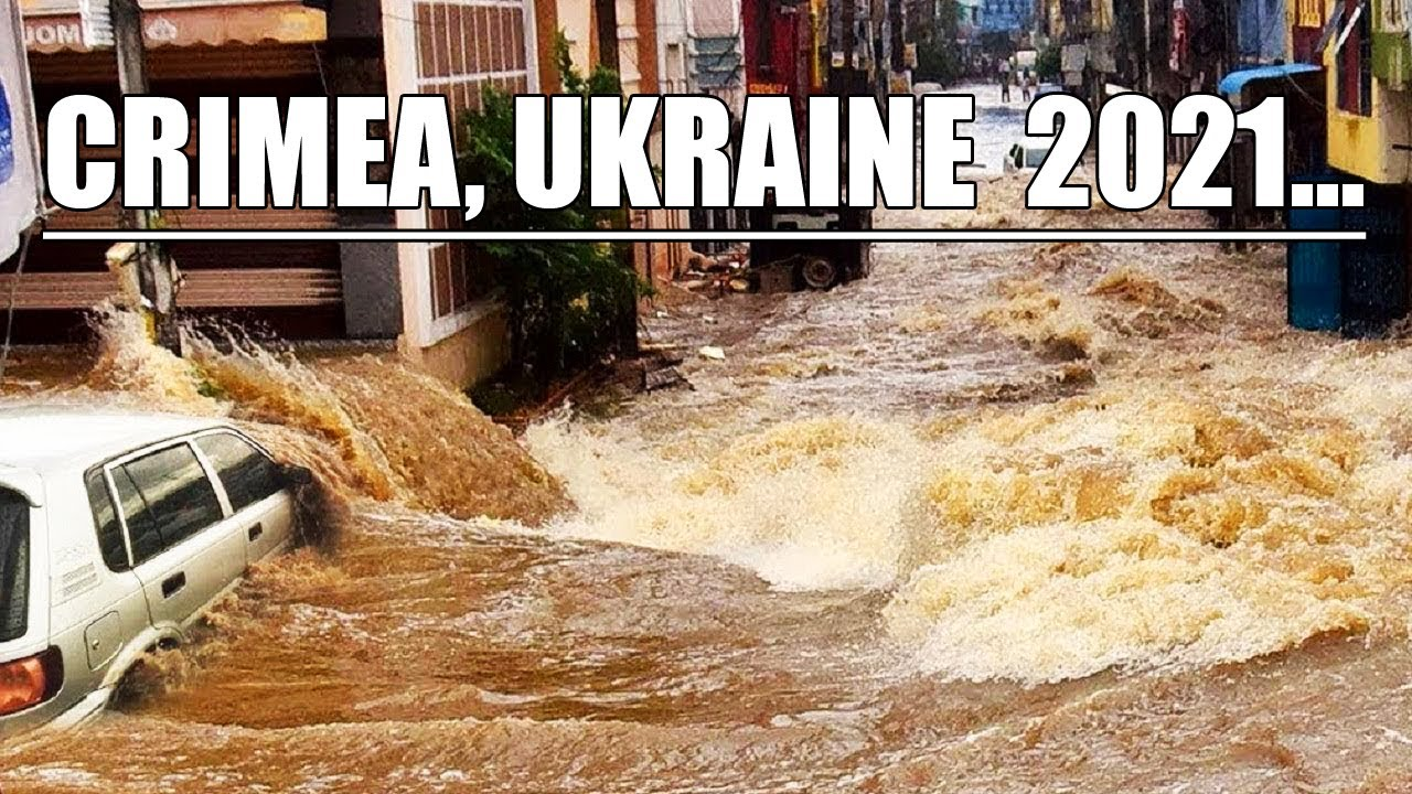 Millions of liters of water on the streets! The biggest flood in the history of Crimea!