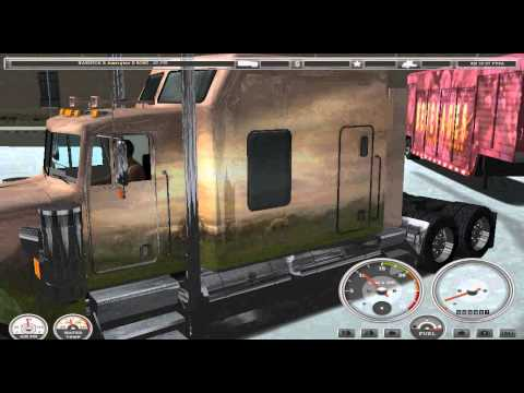 видео обзор игры 18 стальных колёс по амнриканским дорогам часть 2