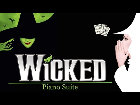 Wicked Piano Suite || Medley with Free Sheets (live Steinway, HD)