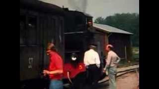 Anten-Gräfsnäs smalspårig järnväg 1976. Film av Wilfried Hofmann