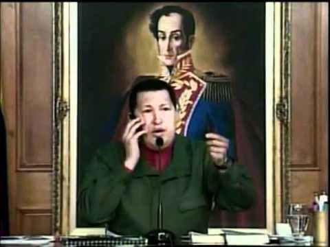 """Chávez al presidente del Banco Provincial: """"Se lo puedo expropiar ya inmediatamente si quiero"""""""