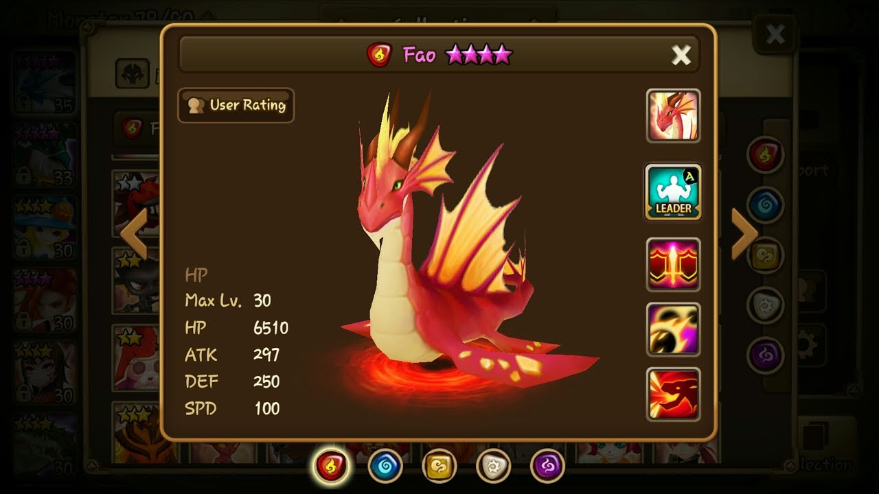 Fire Sylph Baretta Summoners War Runes And Guide